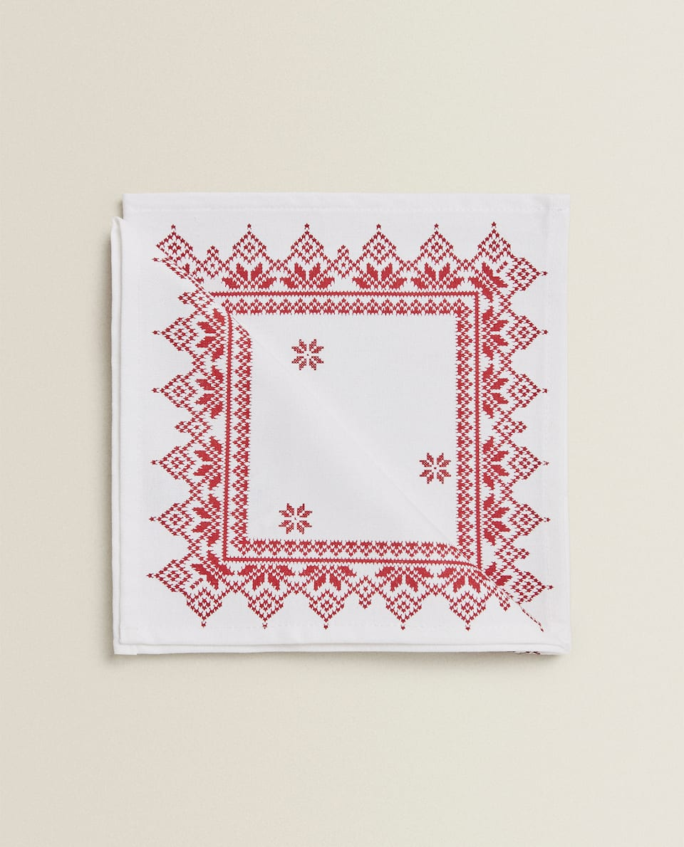 PRINTED NAPKIN (SET OF 2)