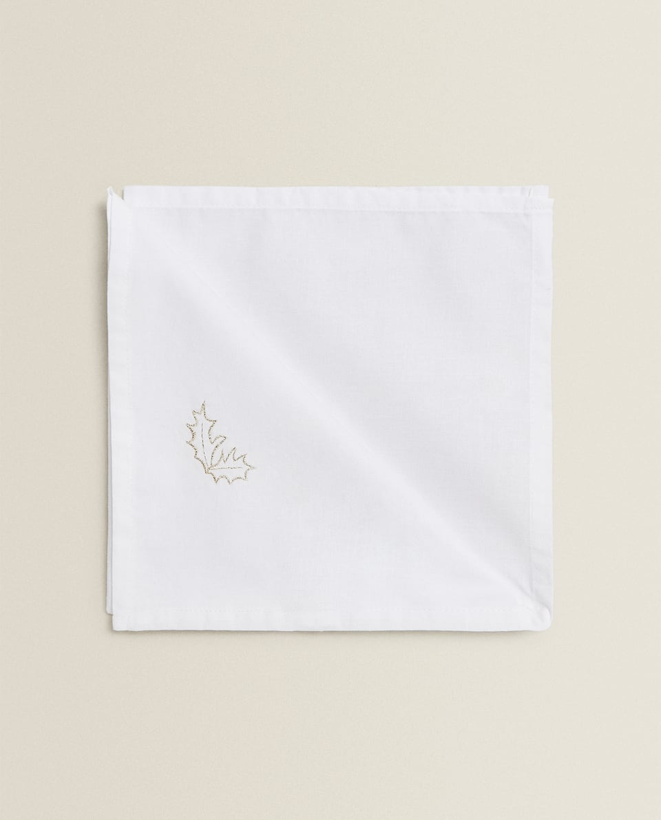 EMBROIDERED NAPKIN (SET OF 2)