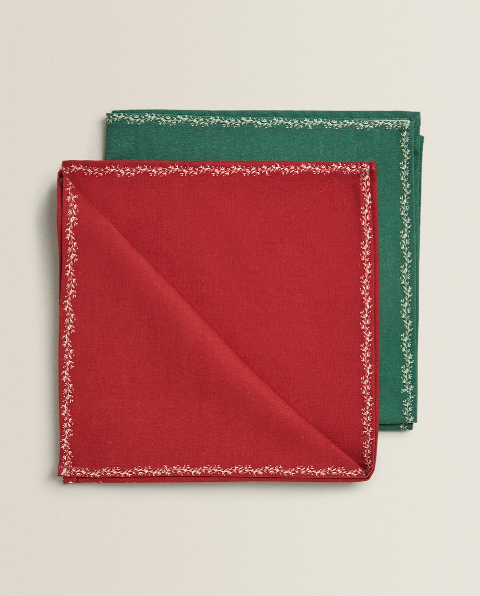 BOX OF 4 NAPKINS