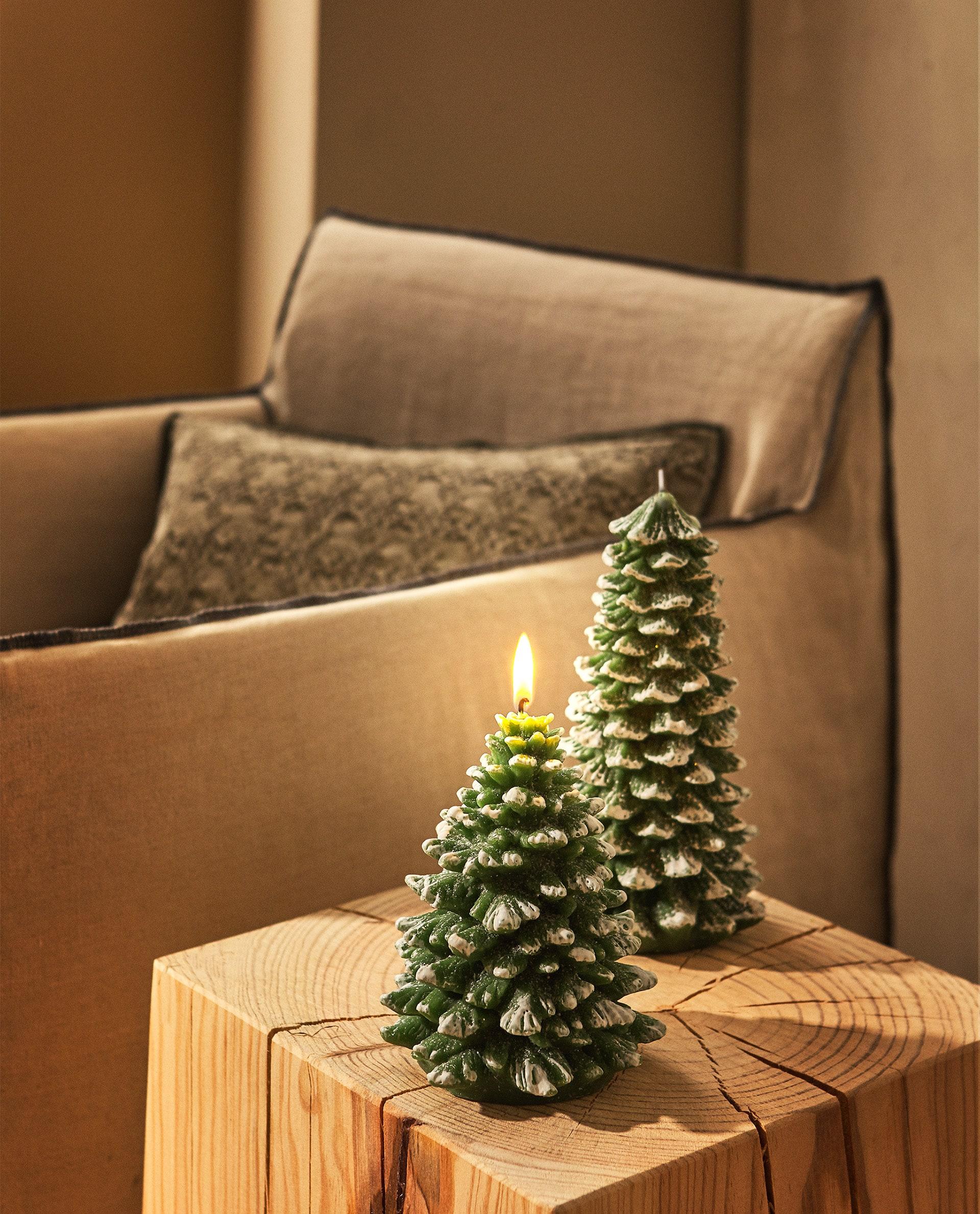 Christmas Tree Candle Candles Living Room Zara Home Uruguay