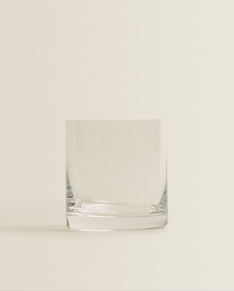 CRYSTALLINE WHISKEY TUMBLER