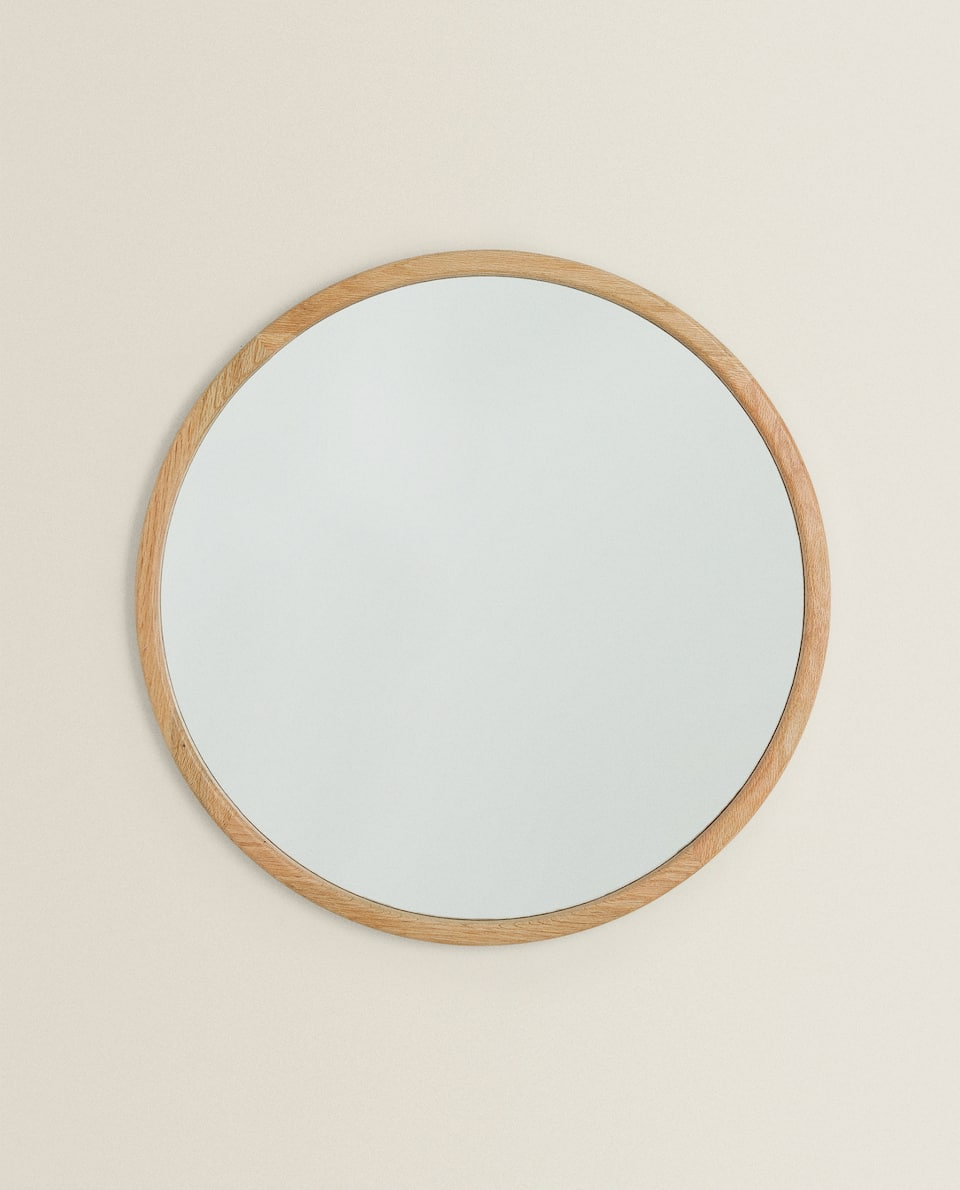 WOODEN FRAME MIRROR