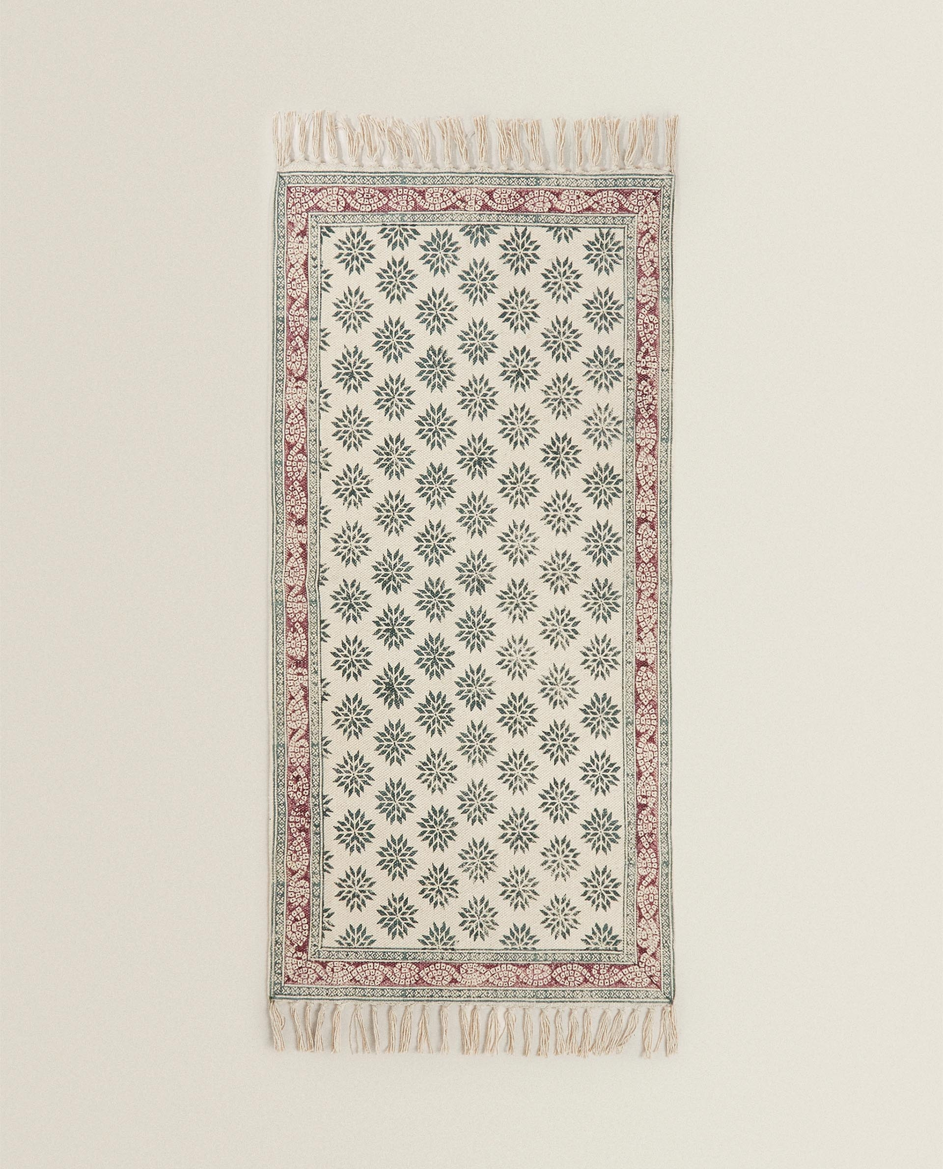 Block Print Rug Rugs Bedroom Zara Home Greece
