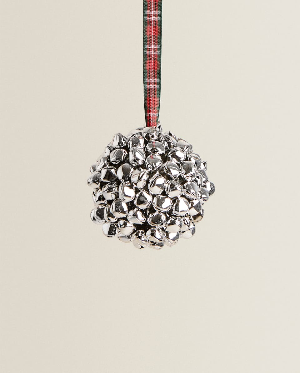 CHRISTMAS SLEIGH BELL BAUBLE