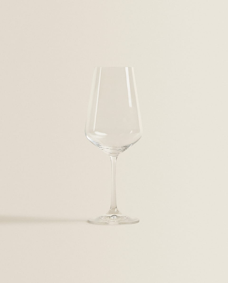 PLAIN CRYSTALLINE WINE GLASS