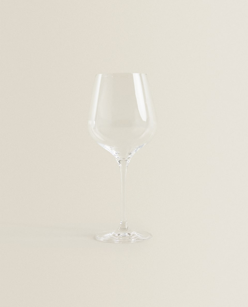 BOHEMIA CRYSTAL WINE GLASS