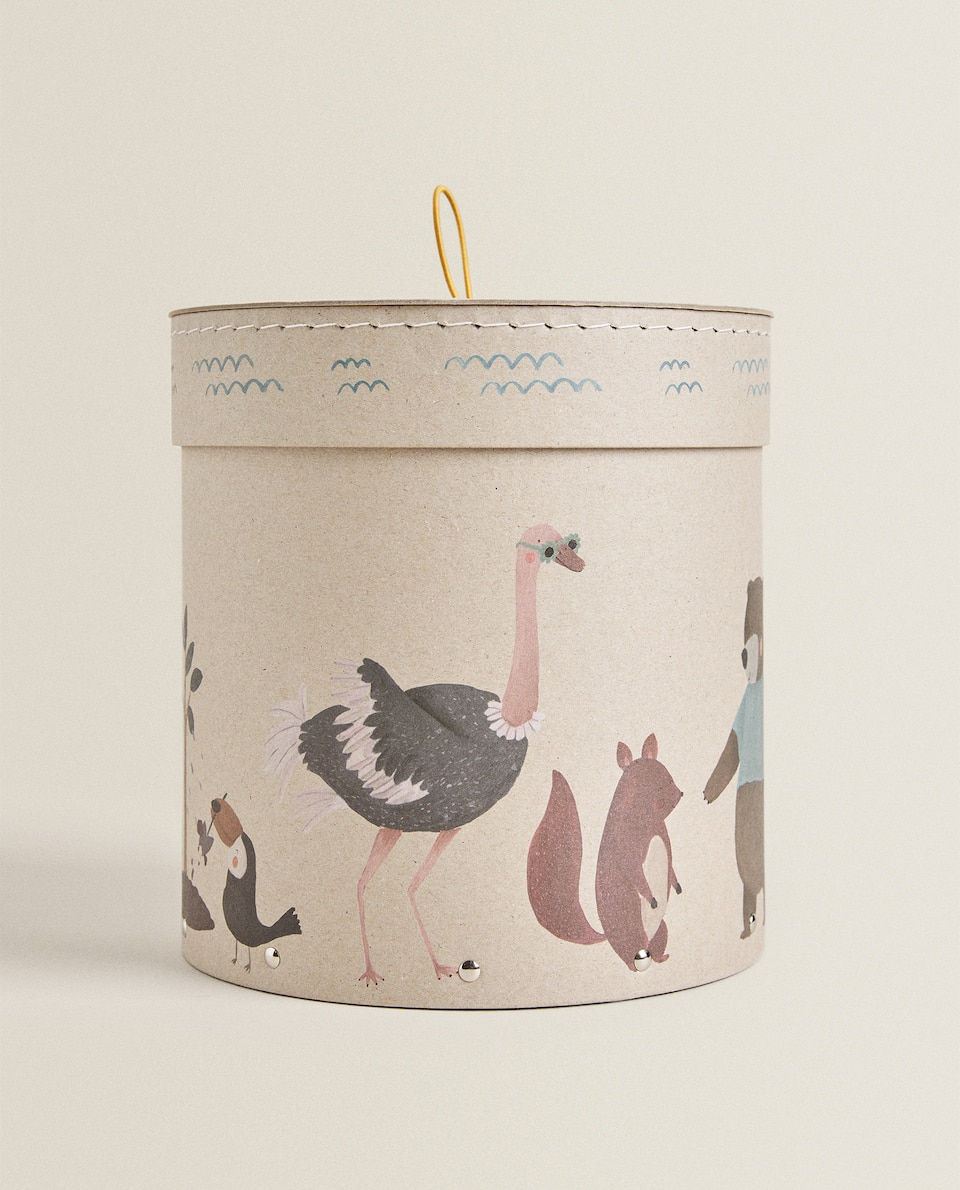 ANIMAL DESIGN BOX