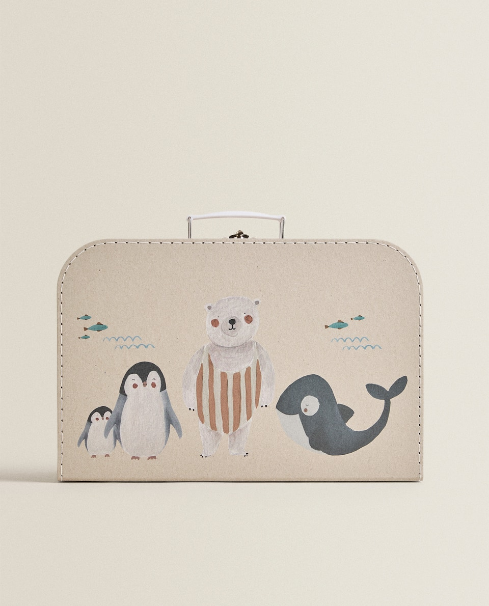 ANIMAL DESIGN BRIEFCASE