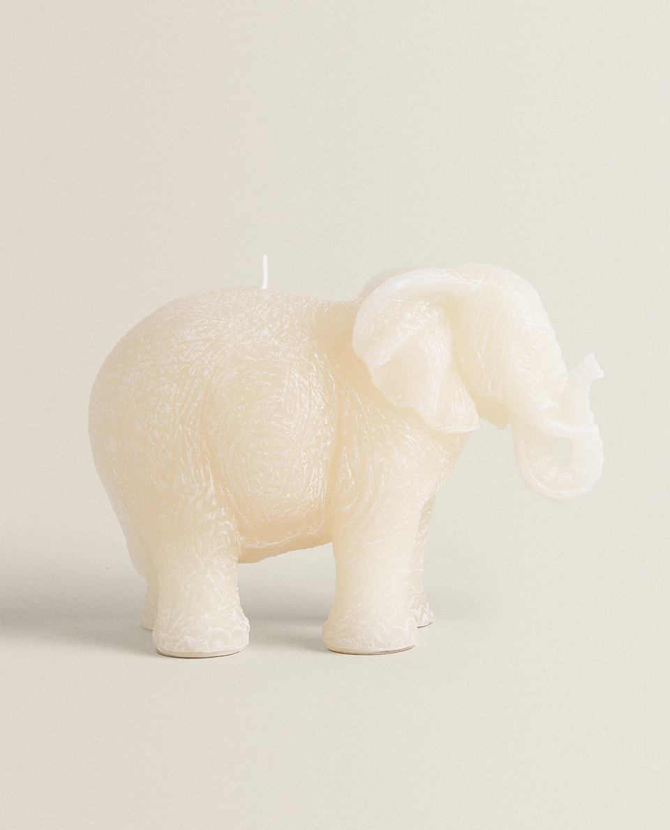 ELEPHANT-SHAPED CANDLE