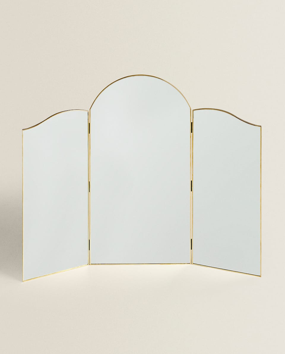 TRIPTYCH TABLE MIRROR