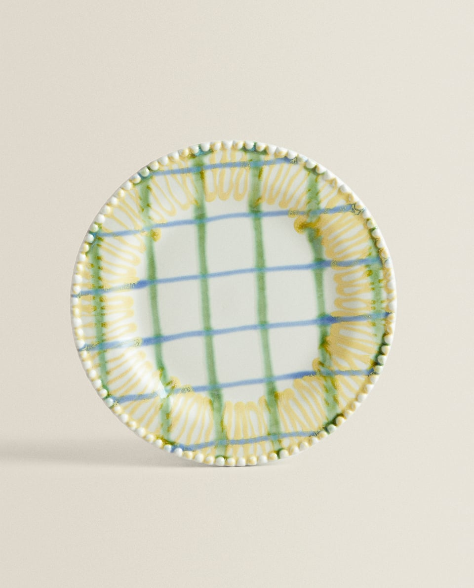 MULTICOLORED CHECK PLATE