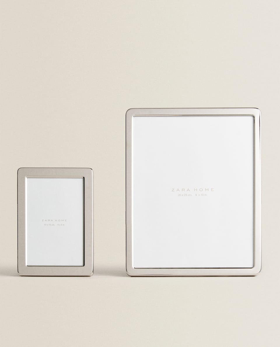METAL FRAME WITH ROUNDED CORNERS