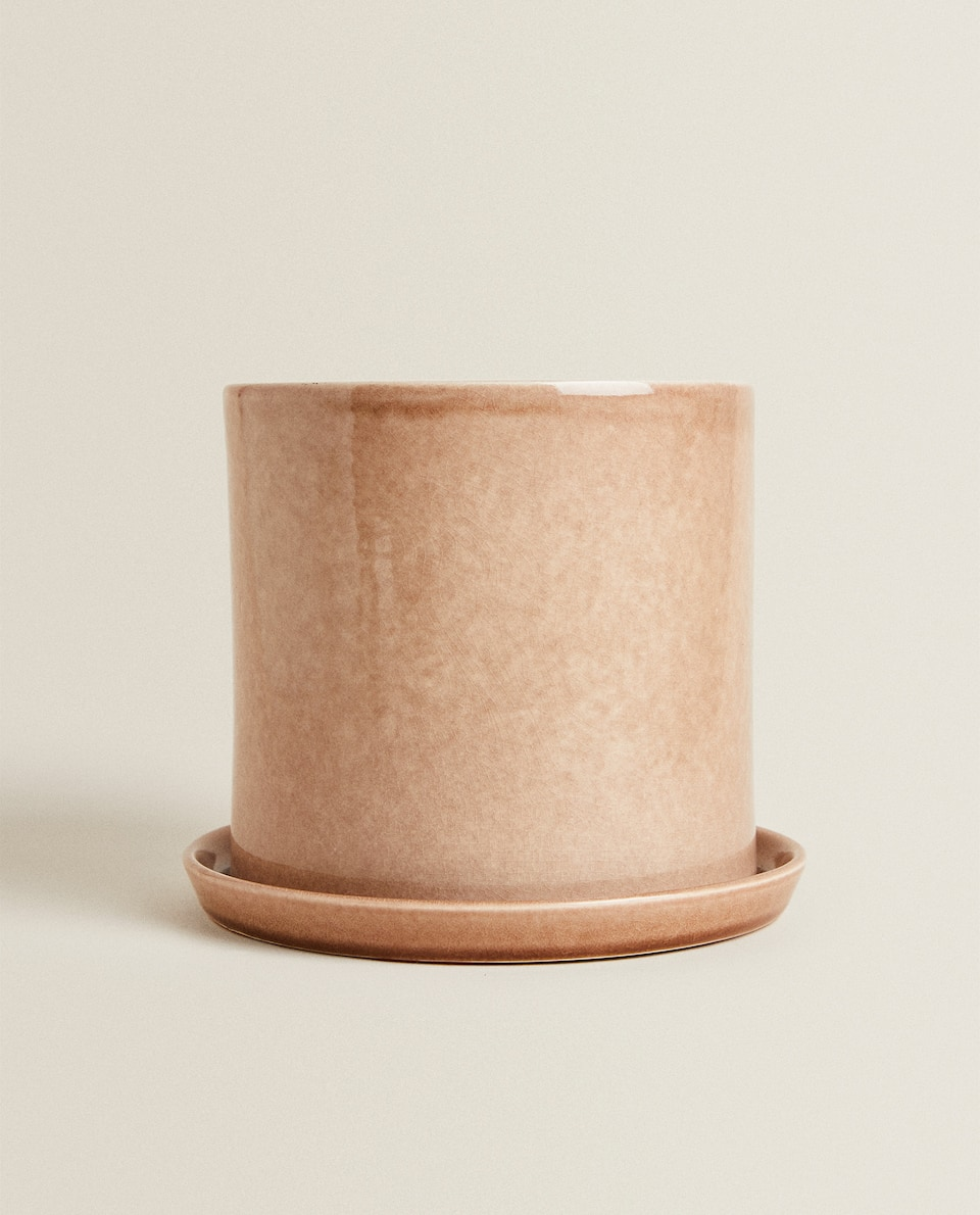 FLOWERPOT WITH TRAY