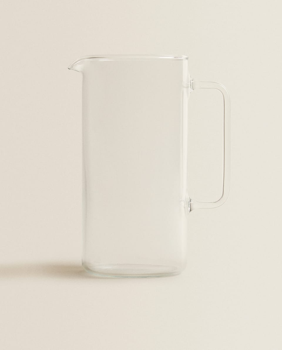 STRAIGHT JUG BOROSILICATE GLASS