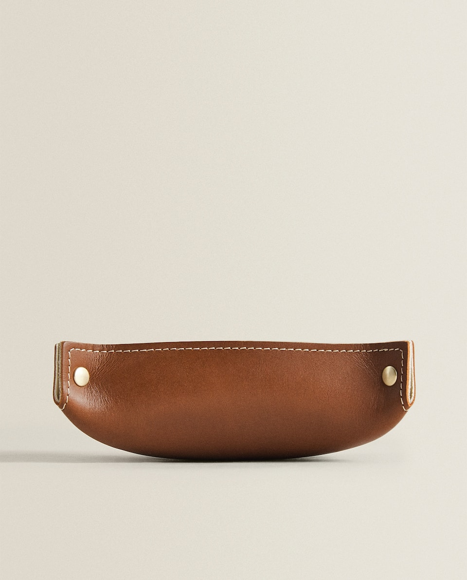 LEATHER SMALL CHANGE HOLDER