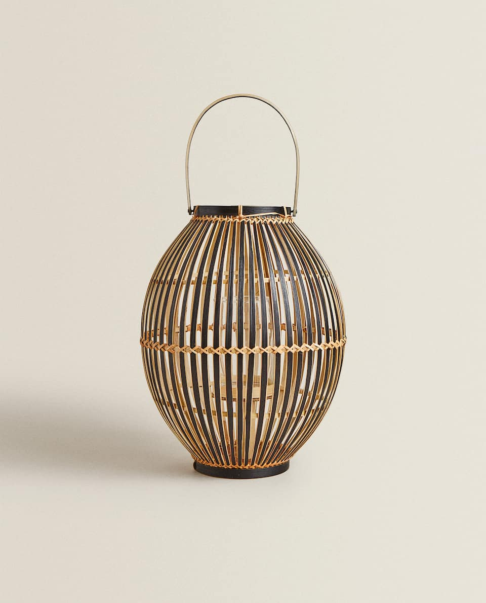 LIGHT BAMBOO LANTERN