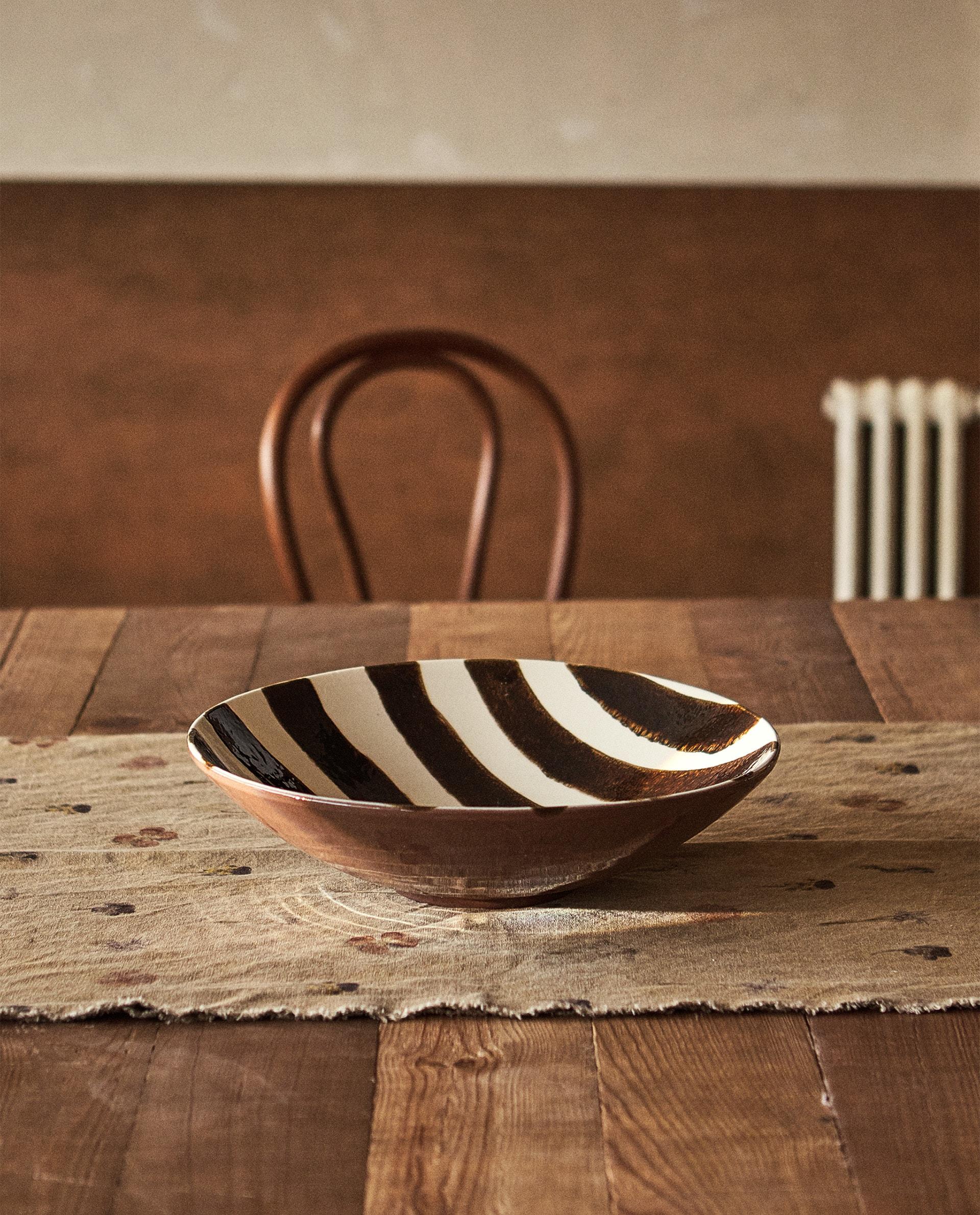Zebra Print Tray Decor Accessories Living Room Zara Home United States Of America