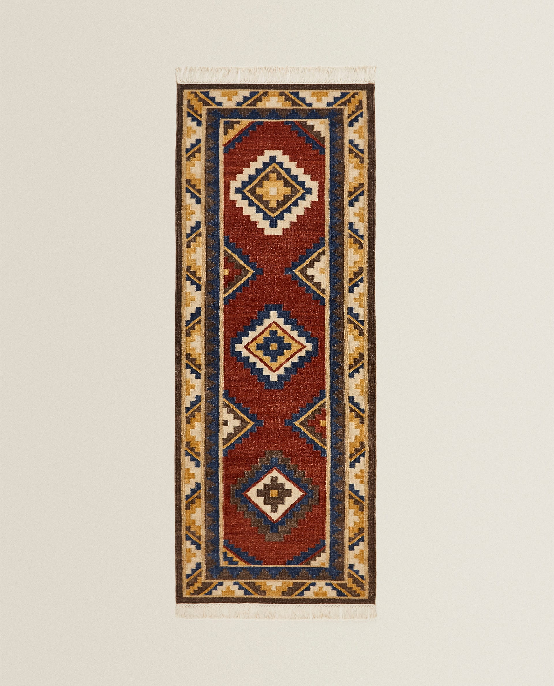 Kilim Rug Boxes Living Room Zara Home Greece
