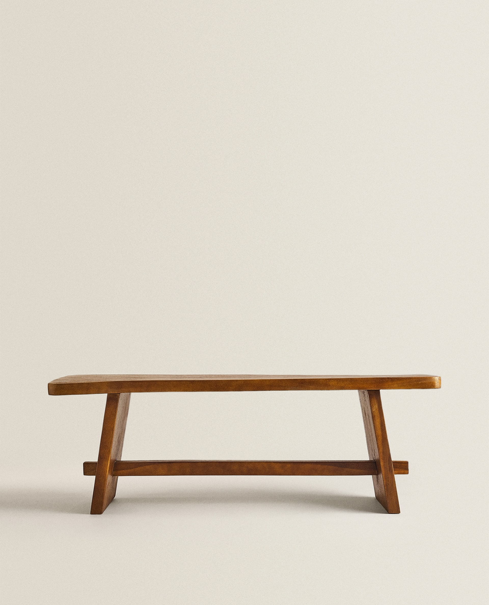 Wood Bench Furniture Living Room New Collection Zara Home Saudi Arabia