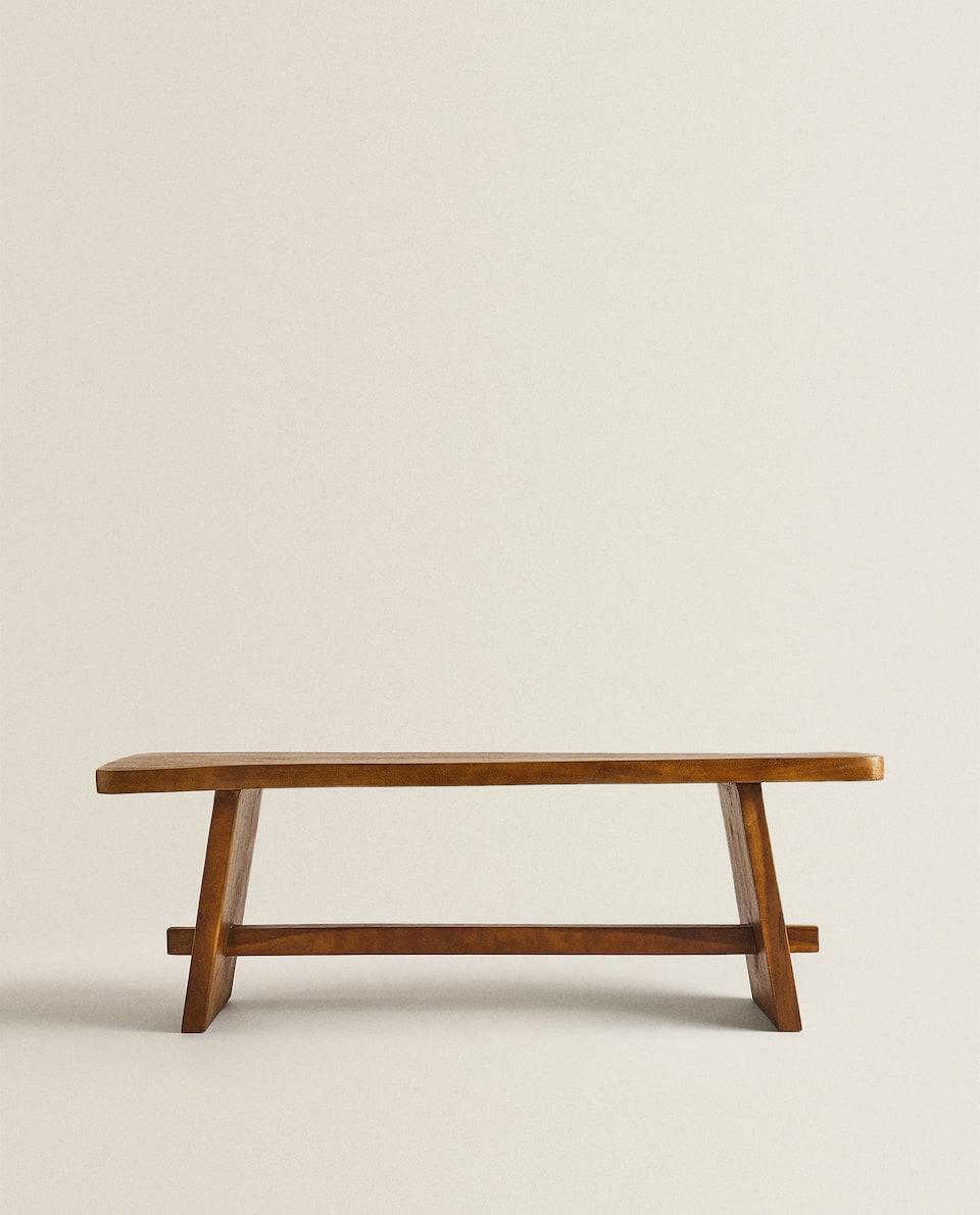 مقعد خشبي