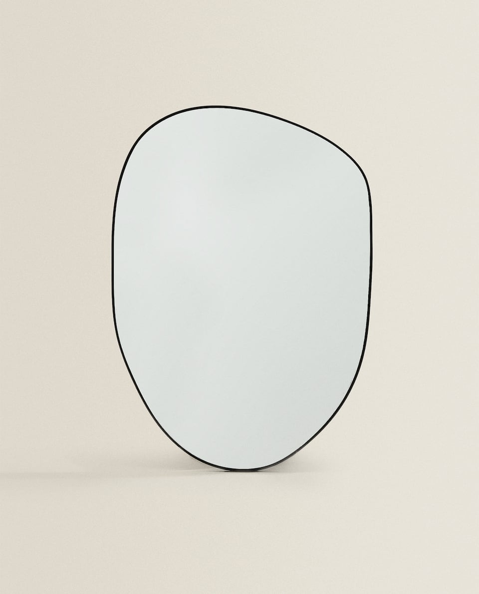 SMALL IRREGULAR-SHAPED MIRROR