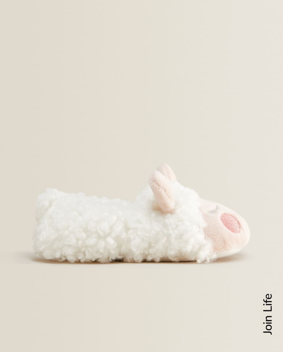 BABY'S SHEEP SLIPPERS