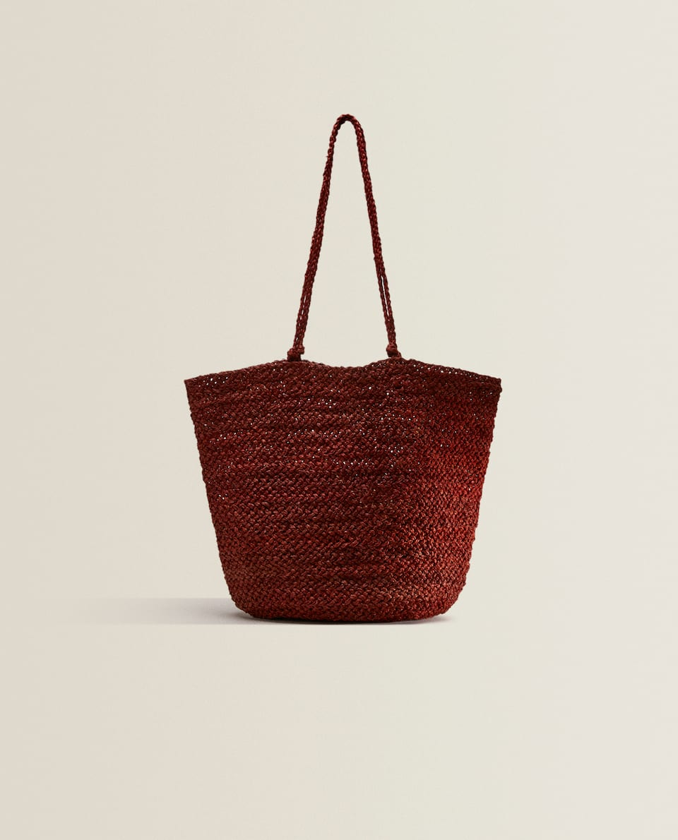 SAC SHOPPER RAPHIA