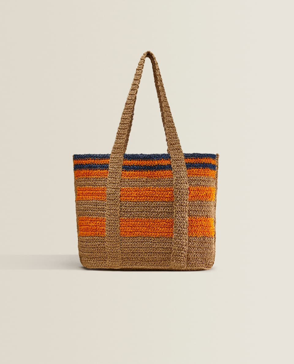MULTICOLORED TOTE BAG