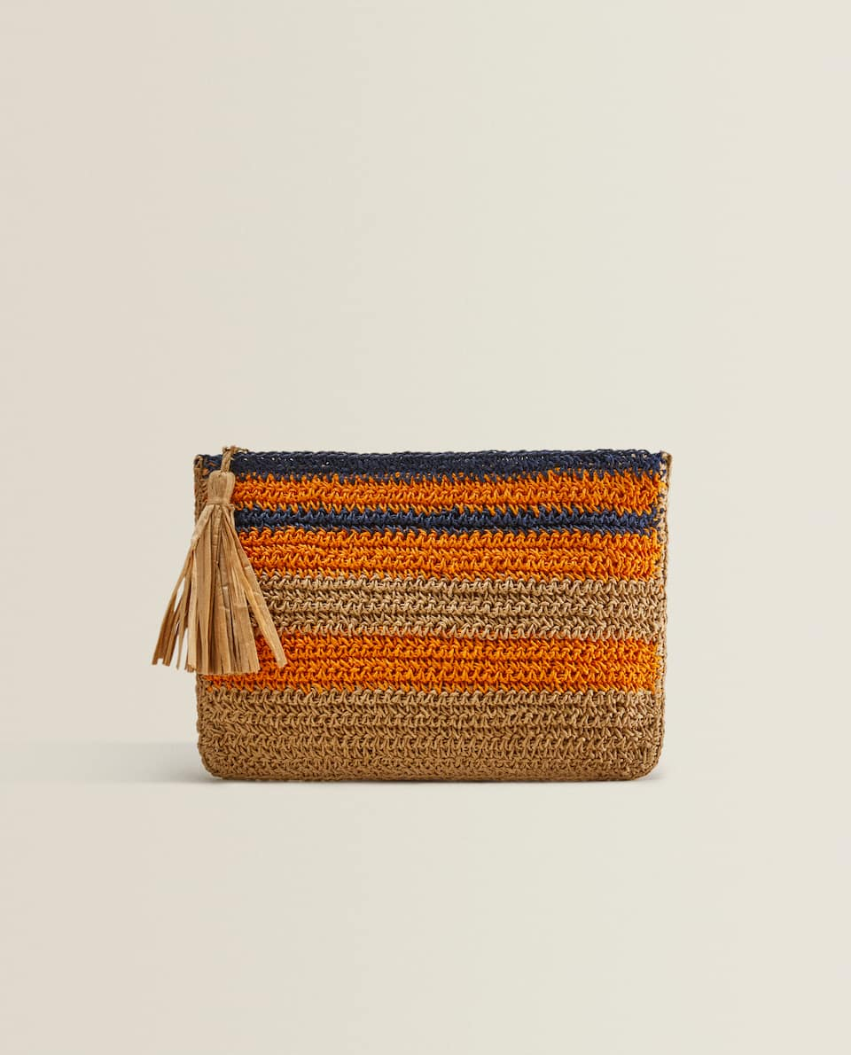 MULTICOLOURED CLUTCH