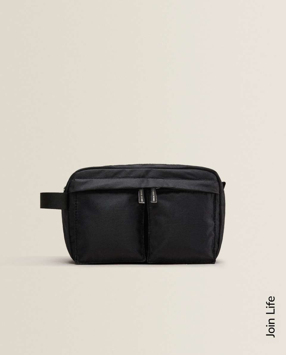 2-POCKET TOILETRY BAG