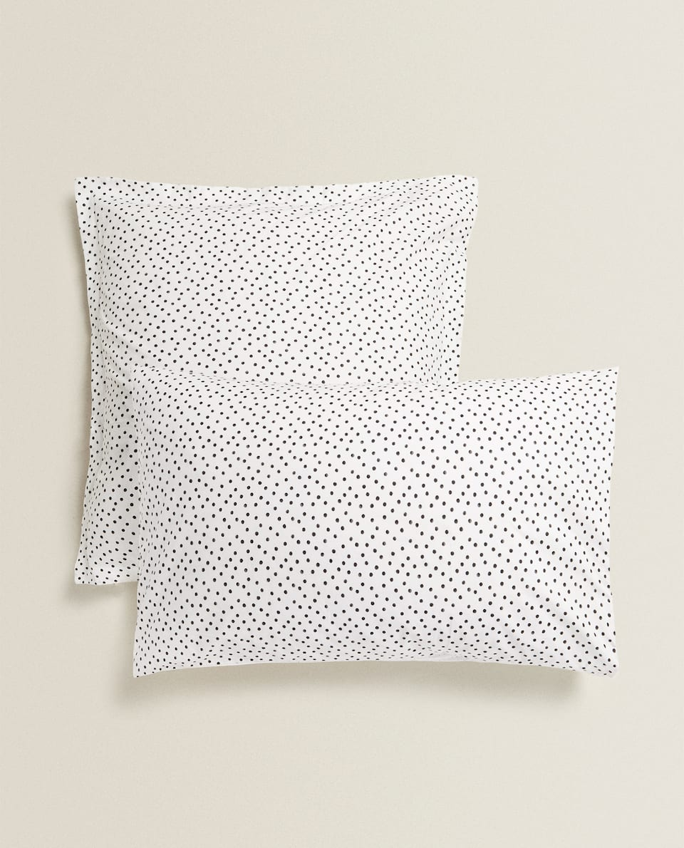 DOTTED PILLOWCASE