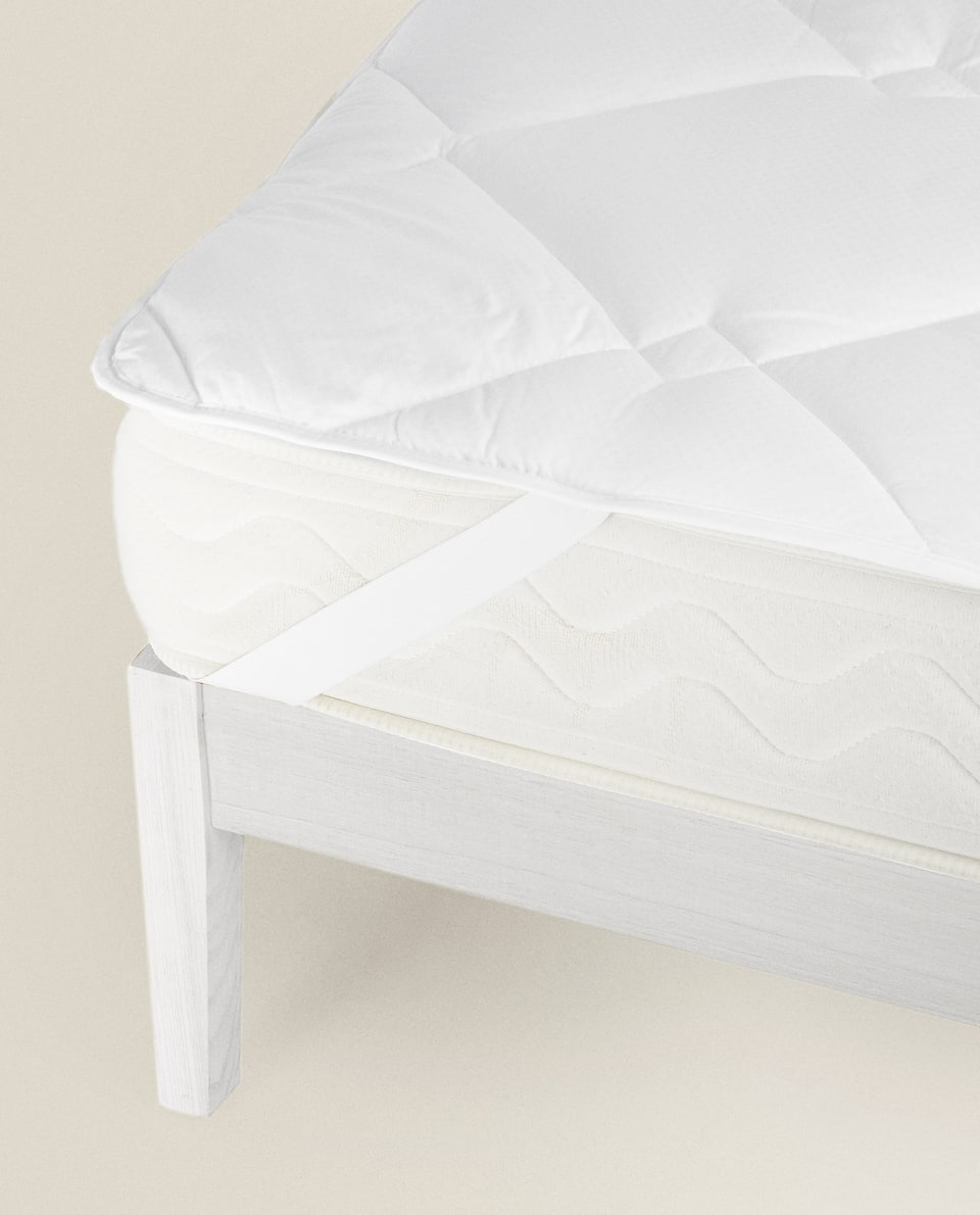 ADJUSTABLE FIBRE MATTRESS TOPPER