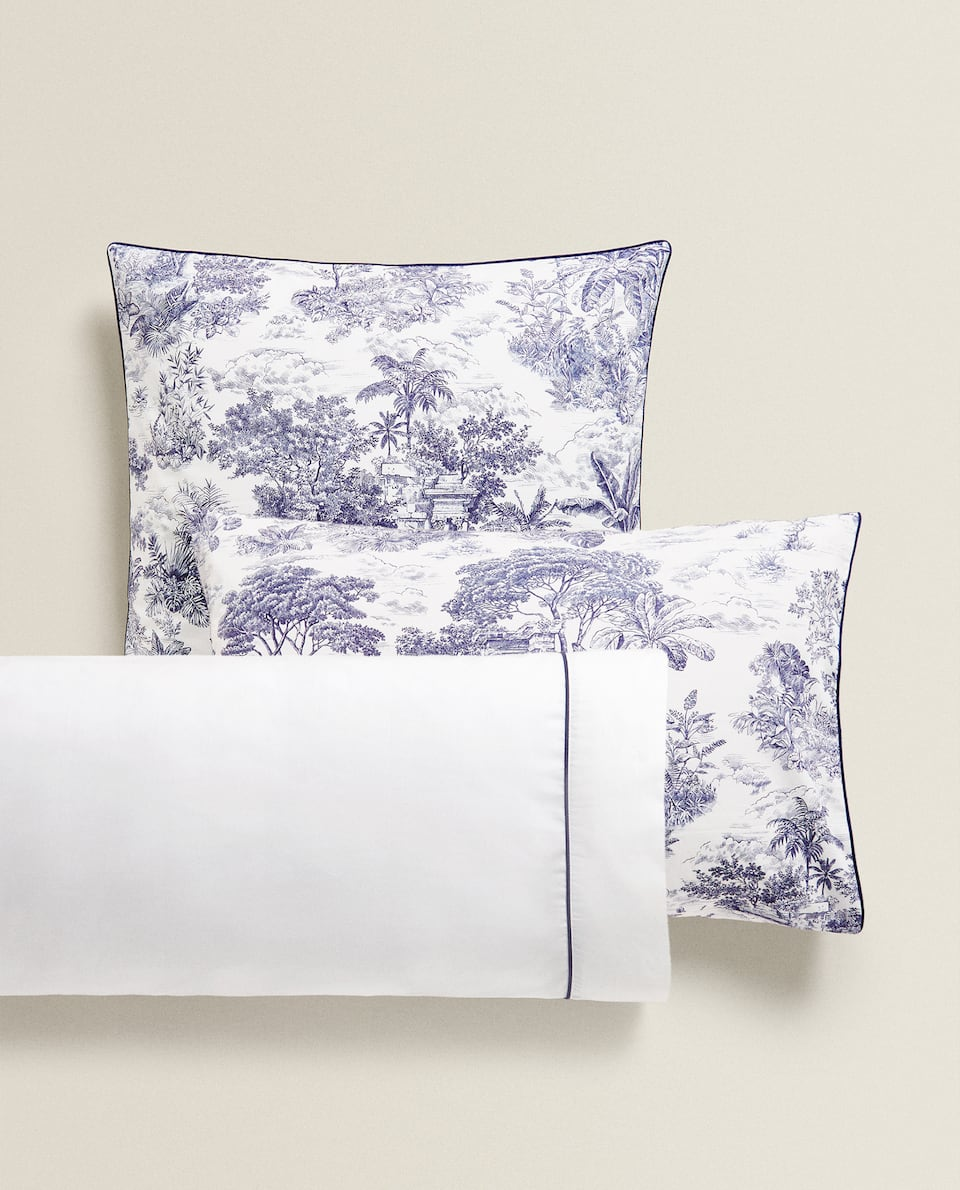 TOILE DE JOUY PILLOWCASE