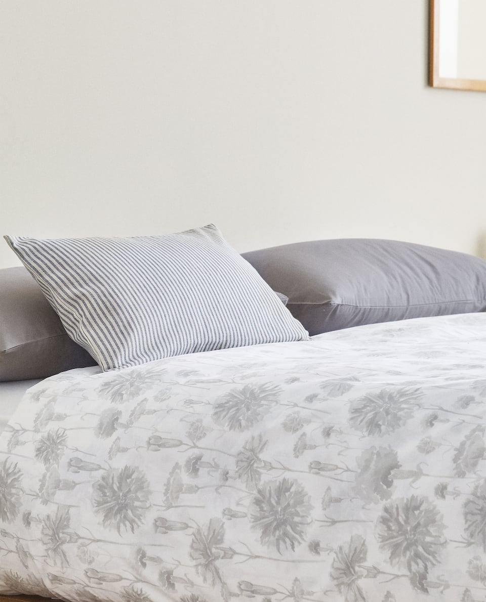 CARNATION PRINT DUVET COVER