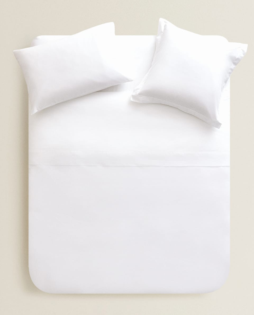 Bettbezug aus Baumwollperkal
