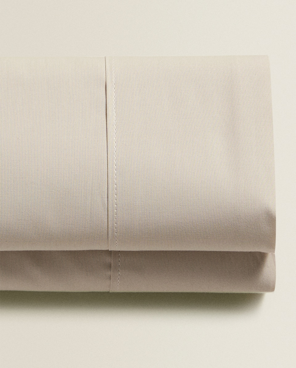 Percale Cotton Flat Sheet