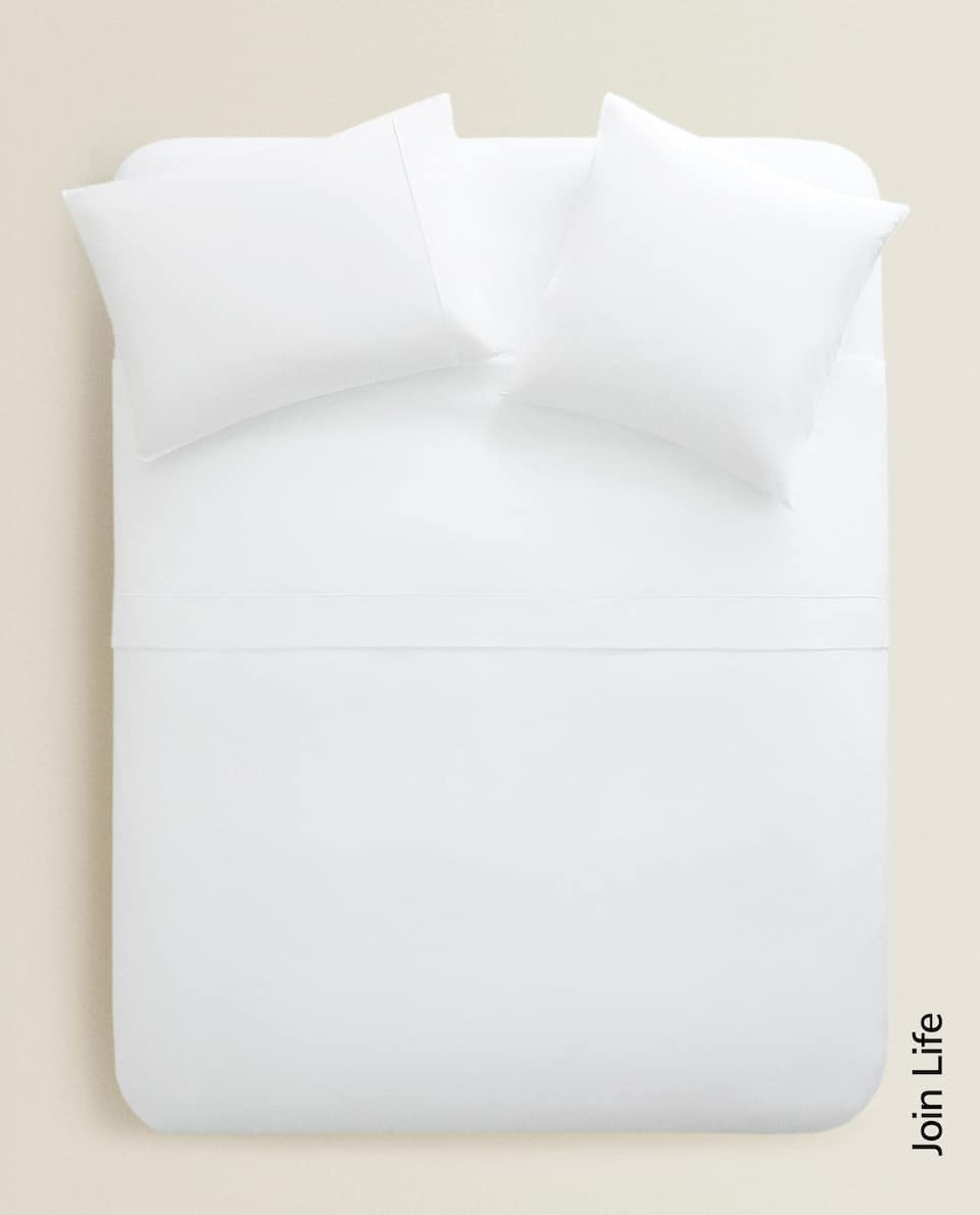 COTTON PERCALE DUVET COVER (300 THREAD COUNT)