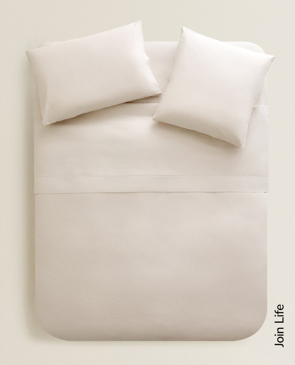 (300 THREAD COUNT) COTTON PERCALE DUVET COVER