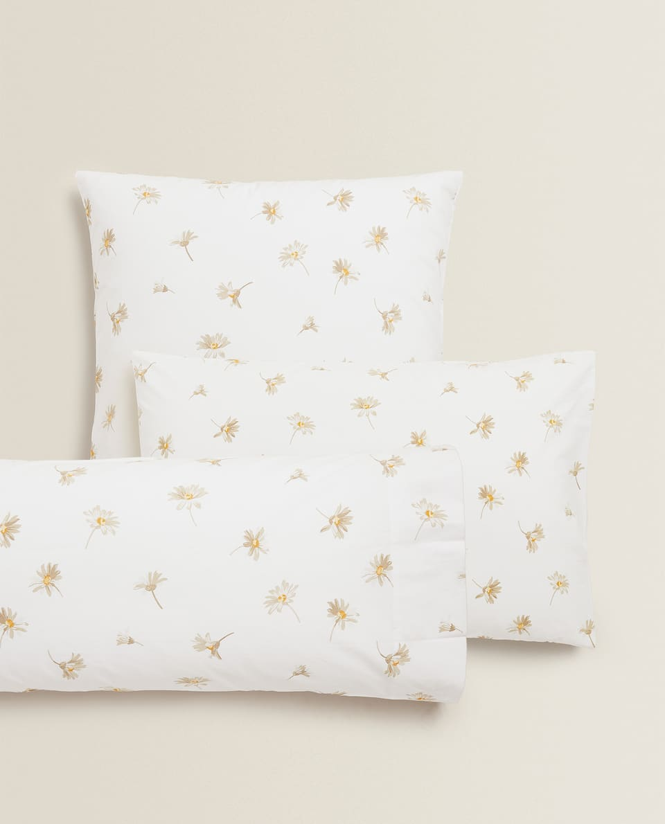 DAISY PRINT PILLOWCASE