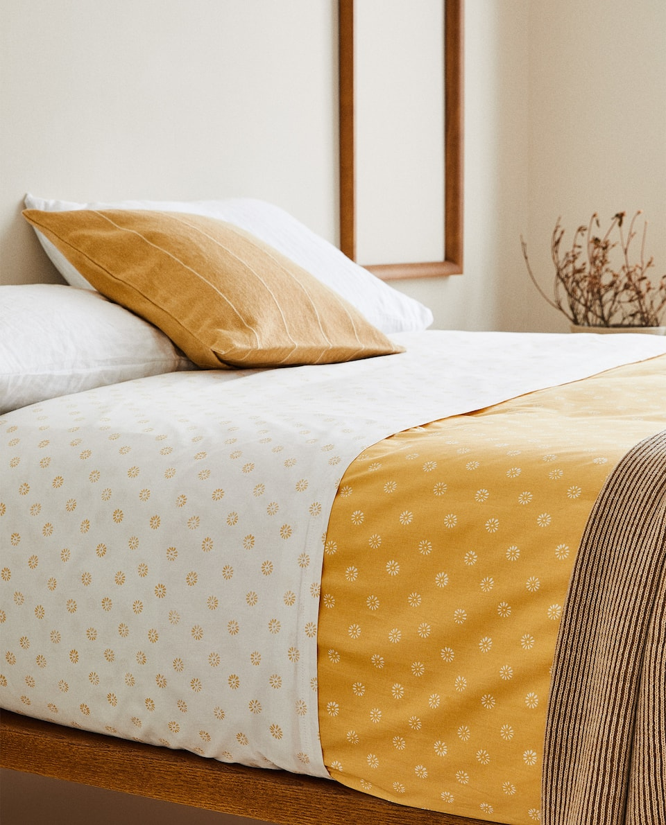 REVERSIBLE DUVET COVER
