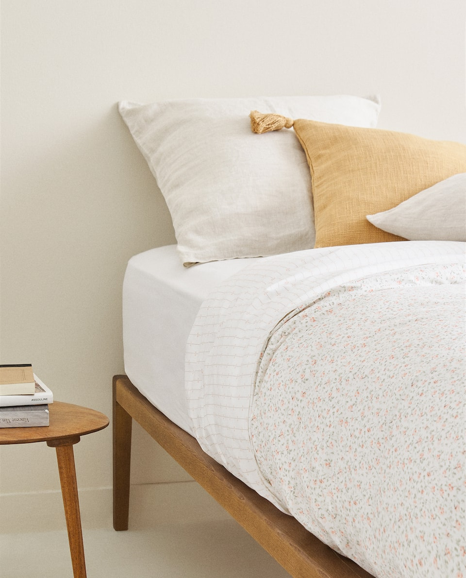 MINI FLORAL PRINT DUVET COVER