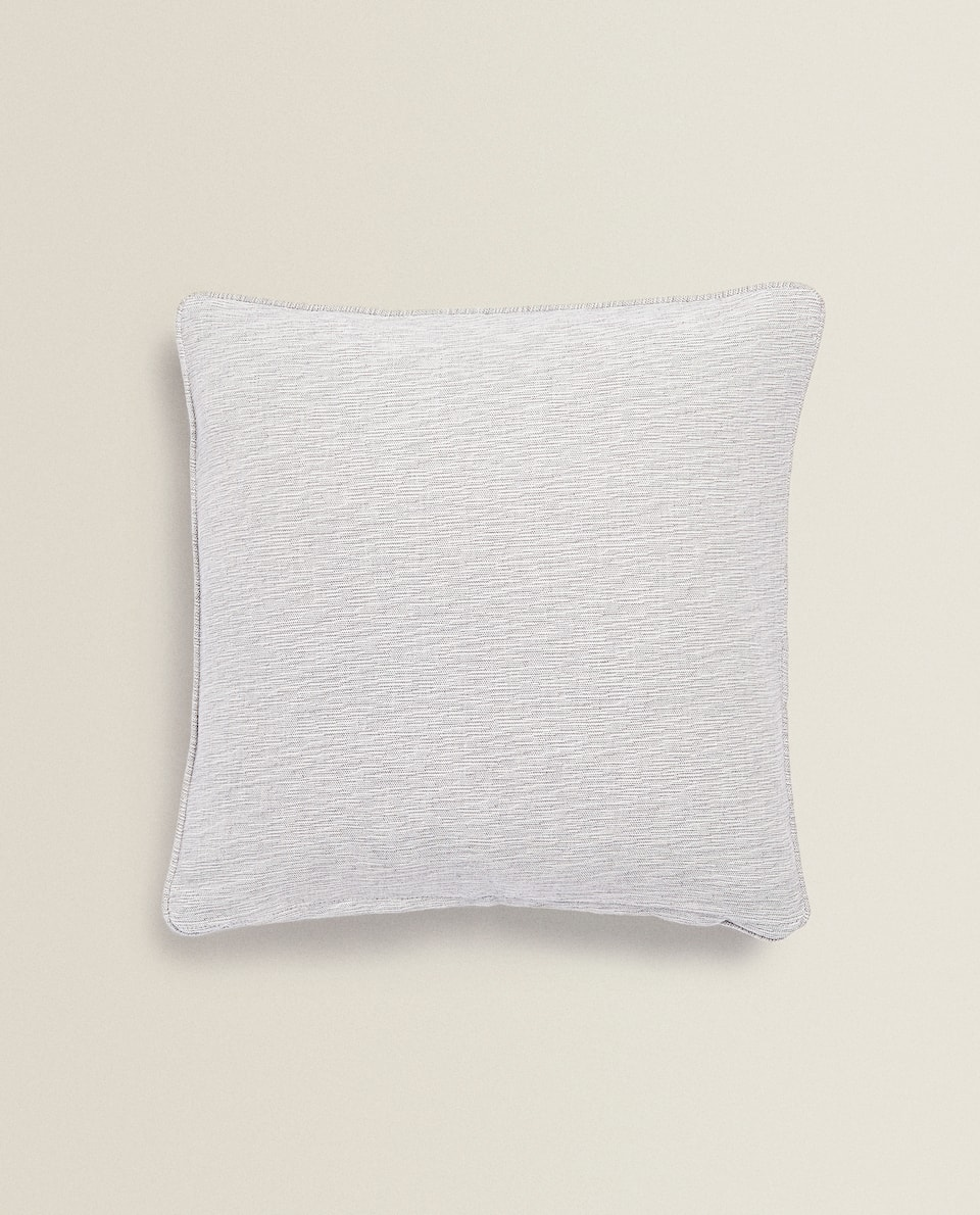 MULTIUSE MELANGE COTTON THROW PILLOW