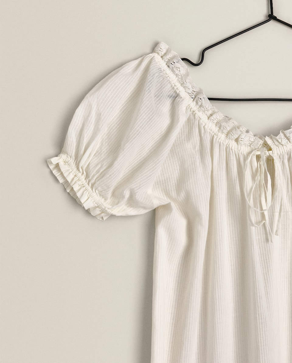 ROUND NECK NIGHTDRESS