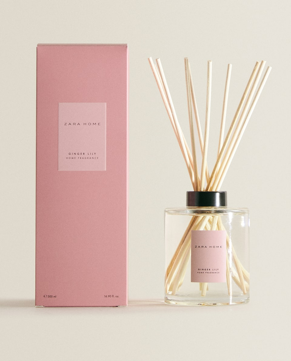 (500 ML) AMBIENTADOR EM STICKS GINGER LILY