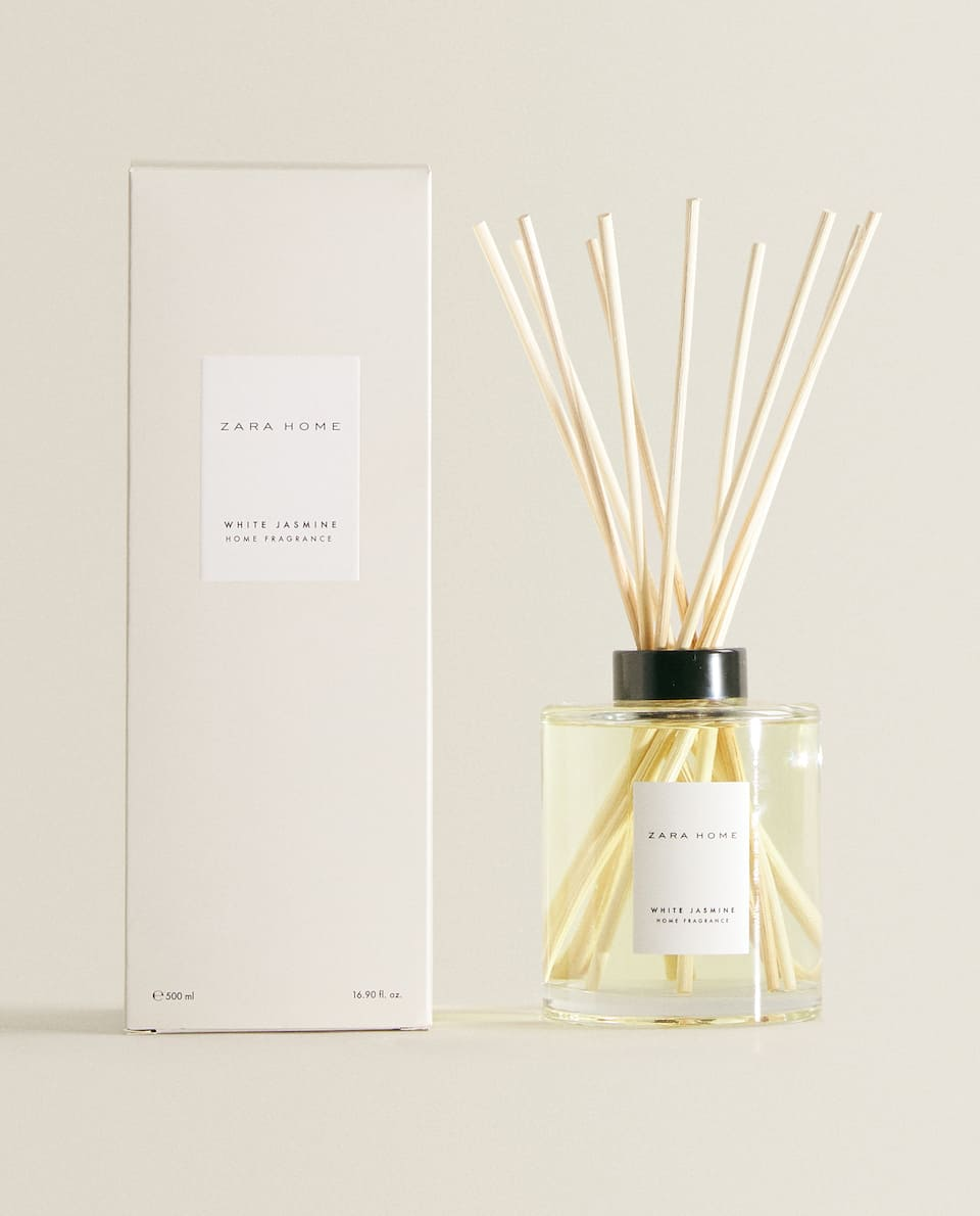 (500 ML) AMBIENTADOR EM STICKS WHITE JASMINE