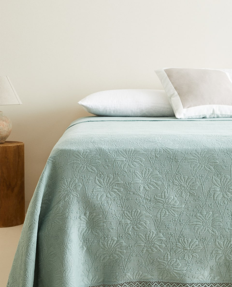 COTTON CROCHET BEDSPREAD