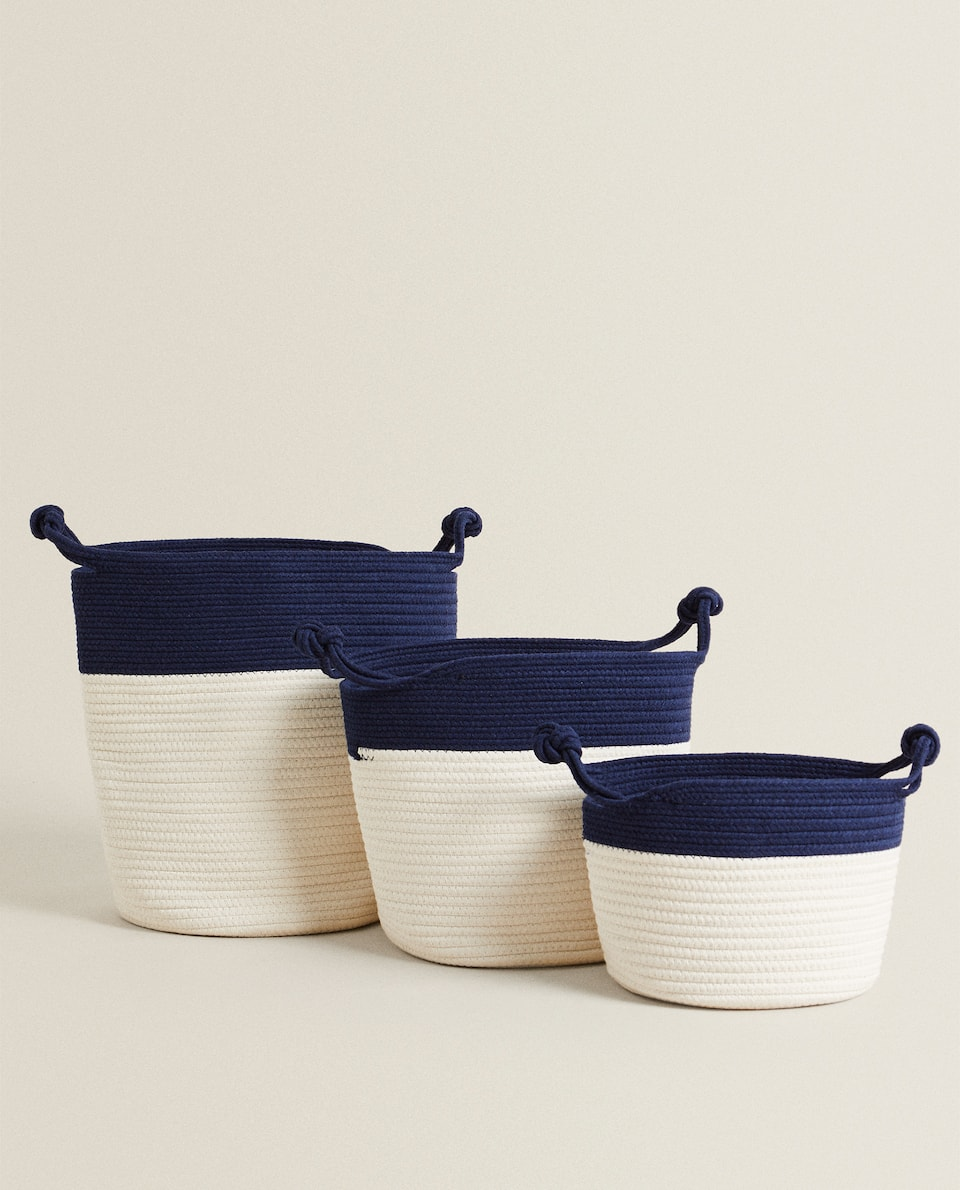TWO-TONE BASKET