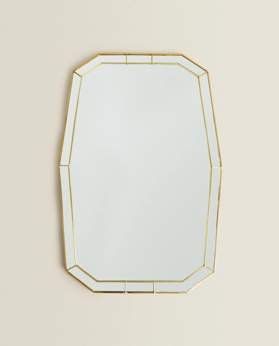 GOLD DOUBLE FRAME MIRROR
