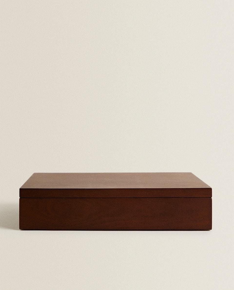 LINEN JEWELLERY BOX