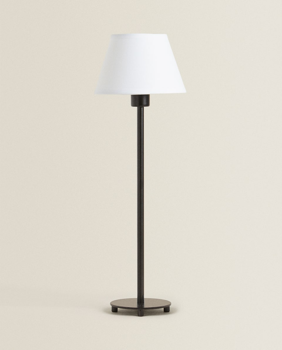 METAL BASE LAMP